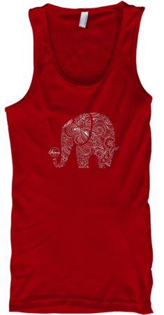 Elephant Mandala - Yoga T-Shirt (White) | Teespring