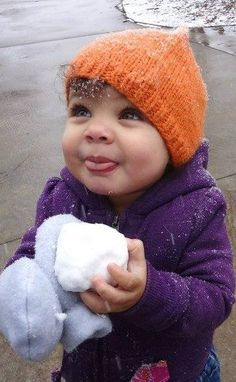 This is Jackie's adorable little girl!! Momma is black and daddy is white. And…
