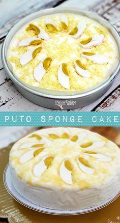 Chocolate Cake Jam Recipes, Baking Recipes, Dessert Recipes, Bibingka Recipe, Puto Recipe, Pinoy Cooking Recipe, Filipino Desserts, Filipino Food, Filipino Recipes