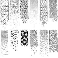Dissolving patterns Pattern Sketch, Pattern Design, Zen Doodle, Doodle Art, Love Doodles, Drawing Journal, Laser Cut Metal, Art Journal Inspiration, Chalk Art