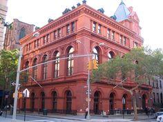 BROOKLYN HISTORICAL SOCIETY, Brooklyn Heights - Forgotten New York