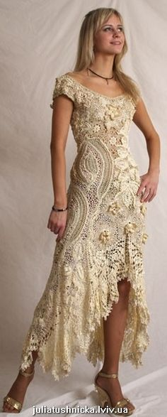 crochet dress - breathtaking!