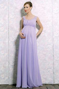 Fav Saks Fifth Avenue Dresses Charming Sleeveless A Line Bridesmaid Dress Pregnant Wedding Maternity