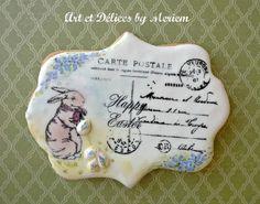 Easter Carte Postale - Art et Delices By Meriem - 2