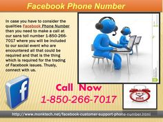 May I put a call at Facebook Phone number 1-850-266-7017 according to my desire?