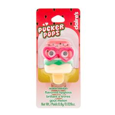 Pucker Pops Watermelon Flavored Lipgloss | Claire's