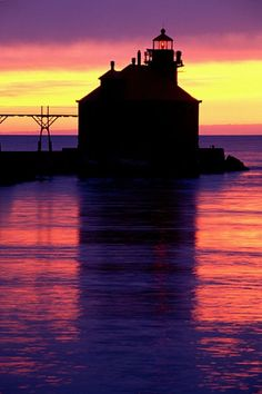 Sturgeon Bay Canal Pier Wisconsin  Honorable Mention - Lighthouse Photography by Gallery Photographers  Gary Martin