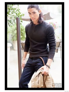 Boo Boo Stewart, that hair is definitely working for you.