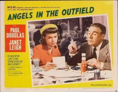 Angels in the Outfield - Lobby card