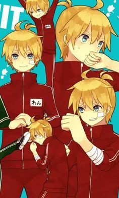 Len kun Kaito, Vocaloid Len, Pikachu, Redeem Points, All Anime, Anime Manga, Reflection, Simple Anime, Wallpaper