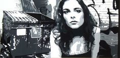"Saatchi+Online+Artist+Michael+James+Toomy;+Painting,+""Throwaway""+#art"