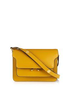 Trunk Mini leather shoulder bag | Marni | MATCHESFASHION.COM UK