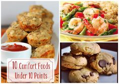 10 Comfort Foods Under 10 Points!!! MY weight watchers ladies will love this. so good.