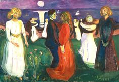 The Dance of Life 1925 / Oil on canvas / 143 x 208 cm Munch Museum