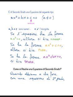 Equazioni di Secondo Grado(2 Esercizi Svolti e Teoria)