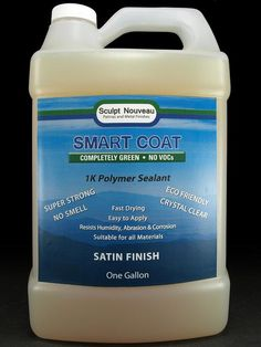 ❥ Smart Coat urethane/resin sealant for all metal surfaces (for patinas)