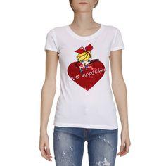 Футболка Женское MOSCHINO LOVE футболка женское moschino love | Футболка MOSCHINO W4B193M E1512 в онлайн продаже на Giglio.com