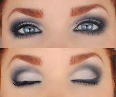 Violet eyeshadow #makeup