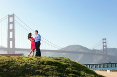 Joyce and Jonathan's Golden Gate Bridge engagement session  #tauranphotography