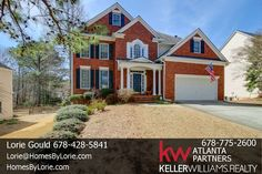 Brick beauty in sought after Collins Hill HS district located in Edgewater, a premier swim/tennis community!