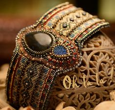 These show stopping cuffs can be custom ordered to fit your wrist. I use a variety of semi-precious stones, swarovski crystals and top quality
