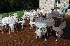 Luxurious Wedding Venue - Le Petit Moulin   #outdoordining #frenchweddingvenue #alfrescodining #luxuryvenue