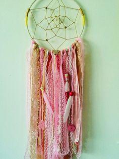 Handmade Custom Boho/Hippie Chic Lace & Ribbon ...