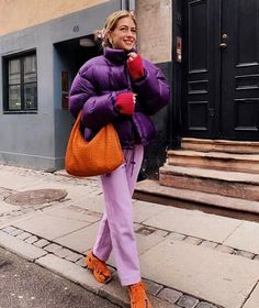 Swans Style is the top online fashion store for women. Shop sexy club dresses, jeans, shoes, bodysuits, skirts and more. Pink Puffer Coat, Cute Fashion, Fashion Outfits, Winter Trends, Autumn Winter Fashion, Fall Winter, Clothes For Women, Trending Outfits, Shoes