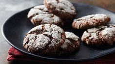 Use our sugar cookie dough to bake these simple and classic chocolate crinkles with just 4 ingredients.