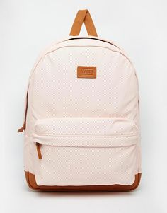 Vans Cameo Backpack in Pastel Pink