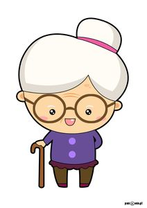 Free to Use &, Public Domain Granny Clip Art Old Man Cartoon, Cartoon Familie, Diy And Crafts, Crafts For Kids, Growing Old Together, Grands Parents, Grandma And Grandpa, Grandparents Day, Altered Books