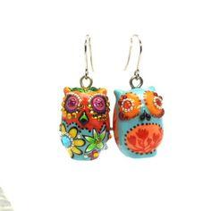 Little Owl Jewerly Earrings 00039 Women Cute Fashion Accessories Handmade Gifts