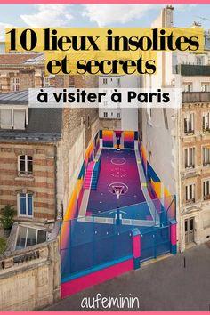 10 unusual places to discover absolutely in Paris - travel - Paris Travel, France Travel, Zanzibar Beaches, Packing List Beach, Famous Places, Paris Photos, Europe Destinations, Beach Trip, Triomphe