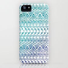Feminine - This iPhone case has a nice gradient effect as well as a nice sense of repetition within each shape. It also displays a nice monochromatic color scheme that is easy on the eyes.