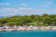 Der Strand des hundefreundlichen Resort Zaton in Kroatien, Zadar - mit Hundestrand