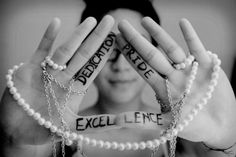 Delta Phi Epsilon. Dedication. Pride. Excellence. <3