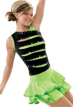 ✔ Skate Dance Costume Tap Ballet 4429 Teachers Jazz Twirl | eBay