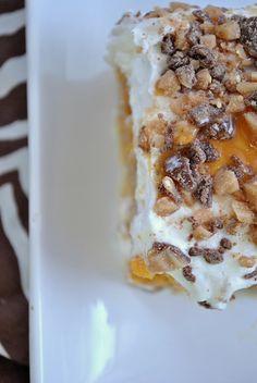 Pumpkin Better Than...Cake - not a fan of pumpkin - but LOVE caramel and Heath!
