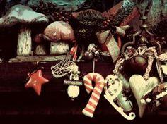Christmas shabby decoration