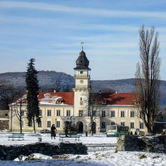 City Hall #zhovkva #sityhall #lvivregion #ukrainetravel #loveukraine #tour #travel #ukraine_recommends #westernukraine #wintertravel  The City Hall of small Ukrainian town Zhovkva looks amazing in a sunny winter day. This beautiful place is located just in 30 km. from Lviv.