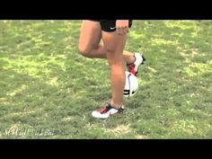 Alex Morgan- Soccer trick during warm-up - YouTube