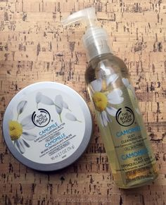 Mis Favoritos de @thebodyshopsp  The Body Shop TBS Camomile Cleansing Butter and Oil