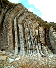 Folded rock beds - Durdle Door | alan jacobsen | Flickr