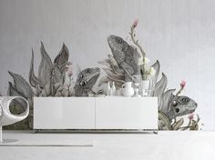 Seven artworks designed by Karen Knorr, Stefano Bonazzi and Giulia Ronchetti