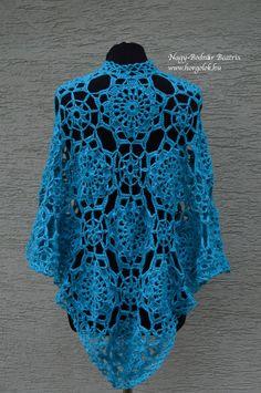 Judit kendője – Judit's shawl – Alkotóház Shawl, Crochet, Lace, Tops, Women, Fashion, Moda, Fashion Styles, Ganchillo