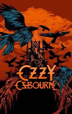 Ozzy Ozbourne The Ultimate Sin poster wall decoration photo print 24x24 inches