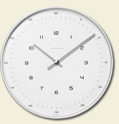 'Ref. Nr. 374/7001.00' Wall Clock, Designed by Max Bill for Junghans