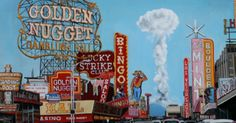 National Atomic Testing Museum in Las Vegas. How have i missed this? Museums In Las Vegas, Las Vegas Trip, Atomic Age, Midcentury Modern, Places To Go, Tourism, History, Travel, Manhattan Project