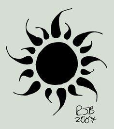 Black And White Sun Tattoo Designs sun tattoo on ribs Tiny Sun Tattoo, Sun Tattoos, Tattoo You, Body Art Tattoos, Cool Tattoos, Tatoos, Simple Sun Tattoo, Simple Henna, Fake Tattoos