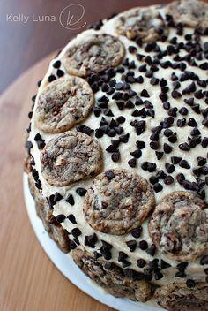 Chocolate Chip Cookie Dough Cake.